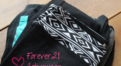 Forever21 activewear